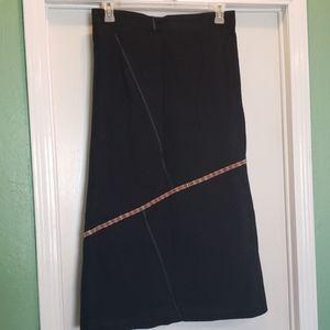 Guatemalan hand stitched skirt